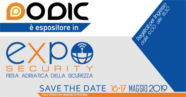 Dodic ad Expo security 2019 - Pescara